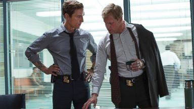 "PHOTO: Matthew McConaughey, left, and Woody Harrelson from the HBO series ""True Detective."""