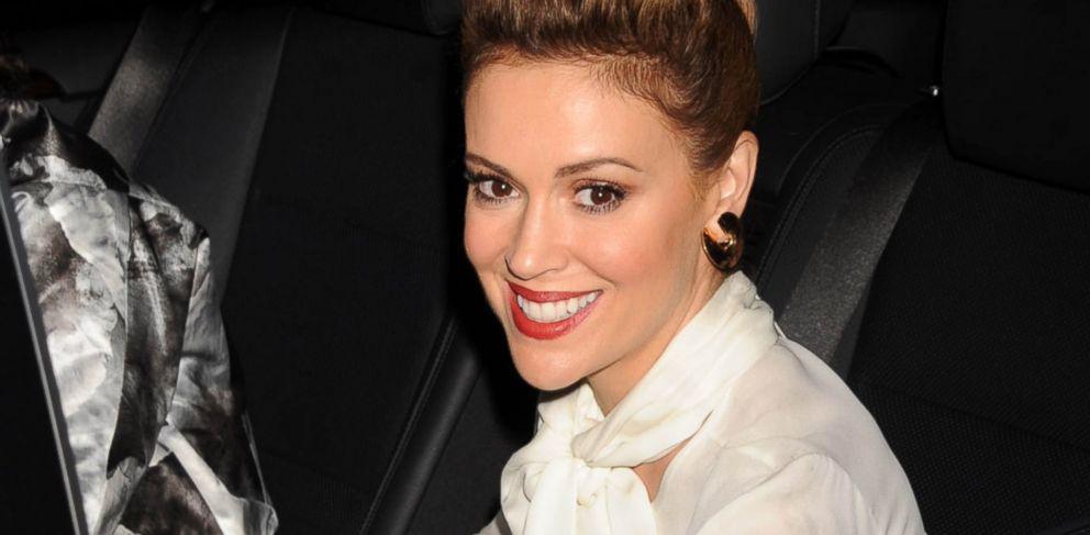 PHOTO: Actress Alyssa Milano in New York, Sept. 6, 2013.