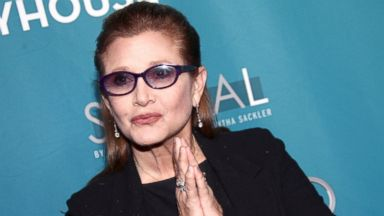 PHOTO: Actress Carrie Fisher attends the Backstage At The Geffen annual fundraiser held at Geffen Playhouse, March 22, 2014 in Los Angeles.
