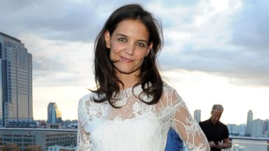 PHOTO: Actress Katie Holmes attends the ASP - The World Surf League cocktail party at The Jimmy at the James Hotel, July 24, 2014, in New York.