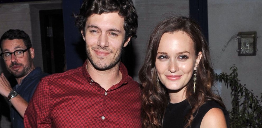 """PHOTO: Adam Brody and Leighton Meester attend the after party for The Cinema Society screening of """"The Oranges,"""" Sept. 14, 2012, in New York City."""