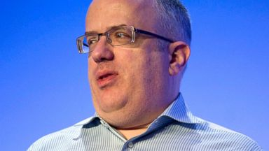 PHOTO: Brendan Eich, who resigned as the chief executive of Mozilla on April 3, 2014, speaks during the 2013 Uplinq Mobile Developers Conference in San Diego, Calif., on Sept. 5, 2013 when he was chief technology officer.