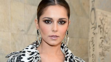 PHOTO: Cheryl Cole attends the Roberto Cavalli show as part of Milan Fashion Week, Feb. 22, 2014, in Milan.