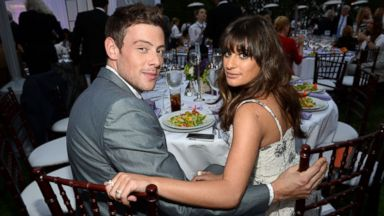 PHOTO: Cory Monteith, left,and Lea Michele attend the 12th Annual Chrysalis Butterfly Ball on June 8, 2013 in Los Angeles, Calif.