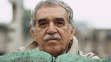 PHOTO: In this archival image, Colombian writer and Nobel Prize in Literature winner Gabriel Garcia Marquez is pictured on Feb. 20,1991 in Carthagena, Colombia.