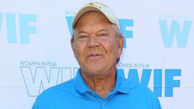 PHOTO: Glen Campbell is pictured on July 13, 2013 in Malibu, Calif.
