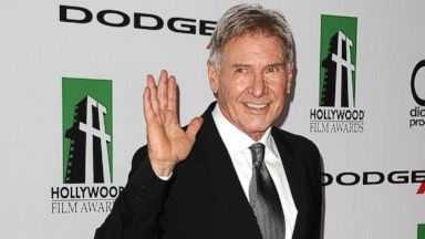 PHOTO: Actor Harrison Ford attends the 17th annual Hollywood Film Awards at The Beverly Hilton Hotel on Oct. 21, 2013 in Beverly Hills, Calif.