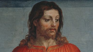 """PHOTO: Jesus Christ, left, is depicted in """"The Last Supper"""" by Andrea del Sarto in this 16th century fresco."""