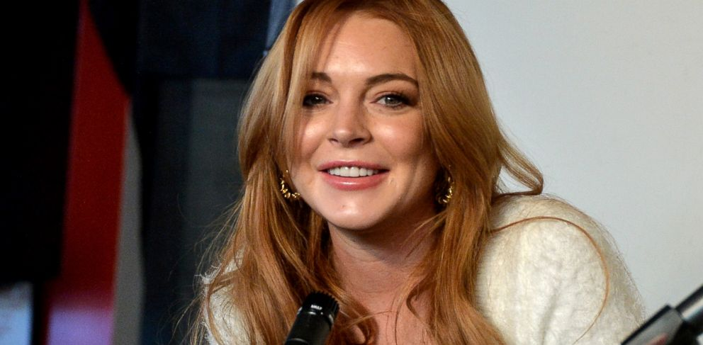 PHOTO: Lindsay Lohan speaks at the Lindsay Lohan Press Conference at Social Film Loft during the 2014 Park City, Jan. 20, 2014, in Park City, Utah.