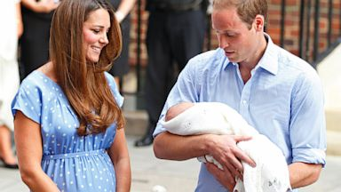 PHOTO: Prince William Talks Baby George