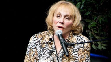 PHOTO: Psychic medium and author Sylvia Browne speaks to the audience during her appearance at Route 66 Casinos Legends Theater, Nov. 13, 2010, in Albuquerque.