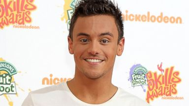 PHOTO: Tom Daley attends Nickelodeons Fruit Shoot Skills Awards 2013 at Indigo2 at O2 Arena, Sept. 7, 2013, in London.