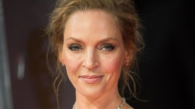 PHOTO: Uma Thurman attends the EE British Academy Film Awards, Feb. 16, 2014 in London, England.