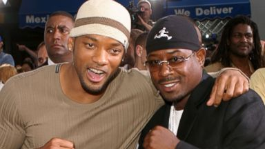 "PHOTO: Will Smith and Martin Lawrence are seen during ""Bad Boys II"" World Premiere at Mann Village in Westwood, Calif., in this file photo, July 9, 2003."