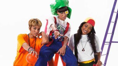 "PHOTO: Lil Mama, Keke Palmer and Drew Sidora in the ""CrazySexyCool: The TLC Story"" biopic."