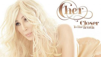 "PHOTO: Cher posted the new cover art for her album ""Closer To The Truth"" to Twitter"