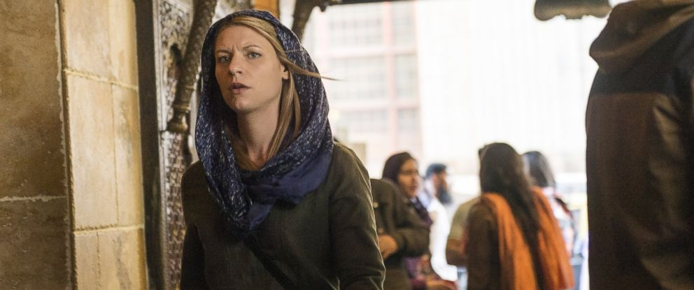 "PHOTO: Claire Danes as Carrie Mathison in season 4 of ""Homeland."""