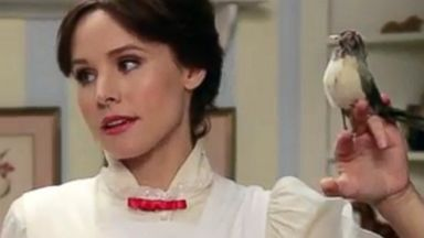 PHOTO: Kristen Bell as Mary Poppins in a Funny or Die video.