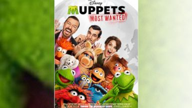 "PHOTO: Disneys feature film ""Muppets Most Wanted"" hits theaters March 21, 2014."