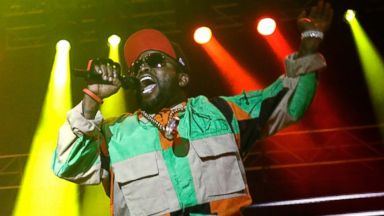 PHOTO: Outkast, seen here performing at the Splendour In the Grass festival in Australia on July 25, 2014, is among the musical acts that will be webcast from the Chicago Lollapalooza this year.
