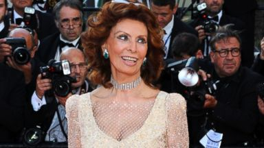 """PHOTO: Sophia Loren attends the """"Voce Umana"""" premiere at the 67th Annual Cannes Film Festival on May 20, 2014 in Cannes, France."""