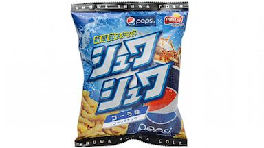 PHOTO: Pepsi flavored Cheetohs are being sold in Japan for a limited time.