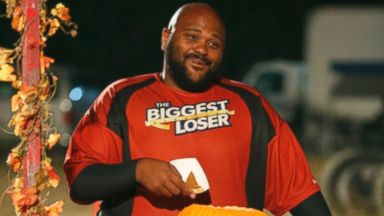 "Ruben Studdard is seen on the Nov. 5 episode of the ""The Biggest Loser""."