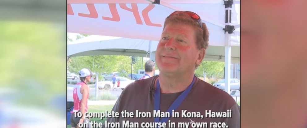 This man became a triathlete after being paralyzed 23 years ago. He now has a goal of completing an Ironman race.