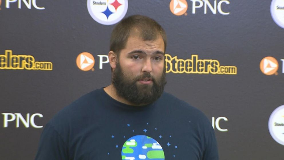 72445b686 Steelers  Alejandro Villanueva donating proceeds from jersey sales ...