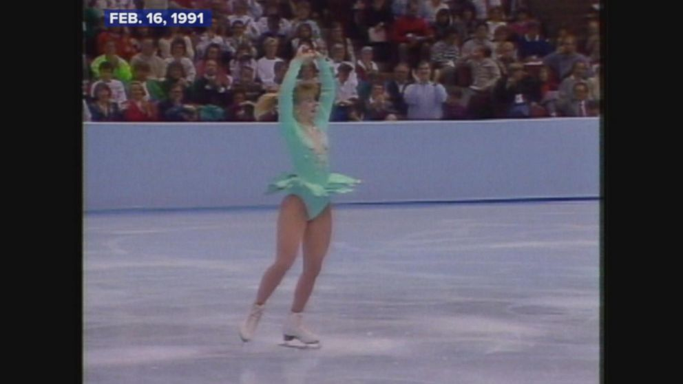 Harding landed a triple axel at the competition in Minneapolis, Minnesota.