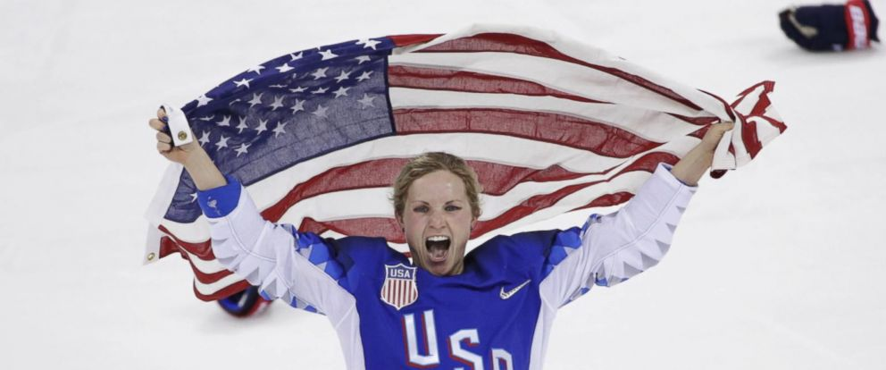 VIDEO: The USA won in a nail-biting shootout -- 20 years after they last won gold in 1998 when womens hockey made its debut as an Olympic sport.