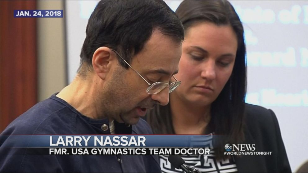 Larry Nassar found guilty, sentenced to up to 175 years in prison.