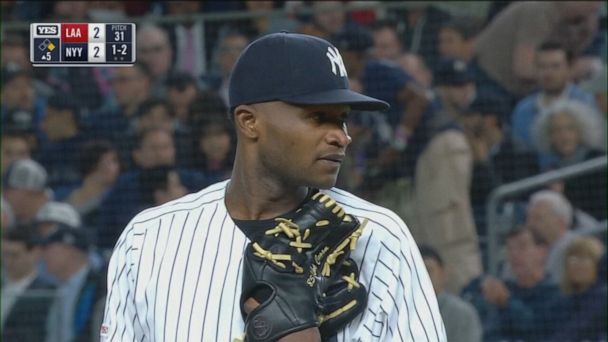 Yankees pitcher Domingo German placed on leave by MLB