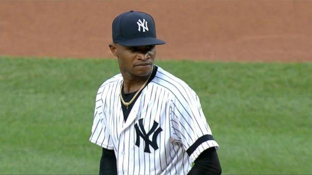 Yankees pitcher Domingo German won't pitch again this season