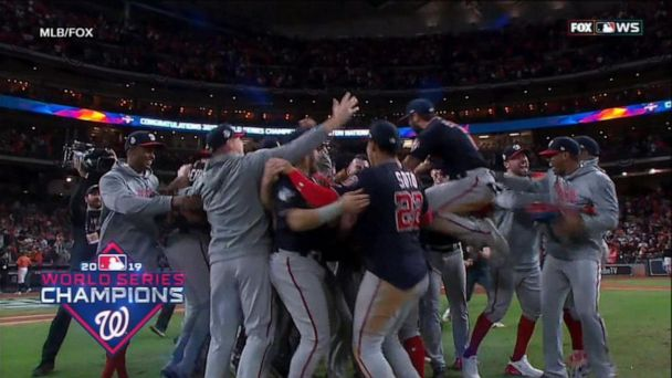 Nationals win 1st World Series