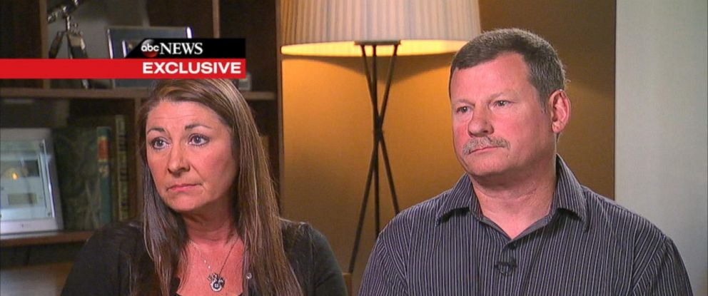 PHOTO: Pamela Ward and Kevin Ward Sr. spoke to ABC News in an exclusive interview about the August 2014 death of their son, race car driver Kevin Ward Jr.