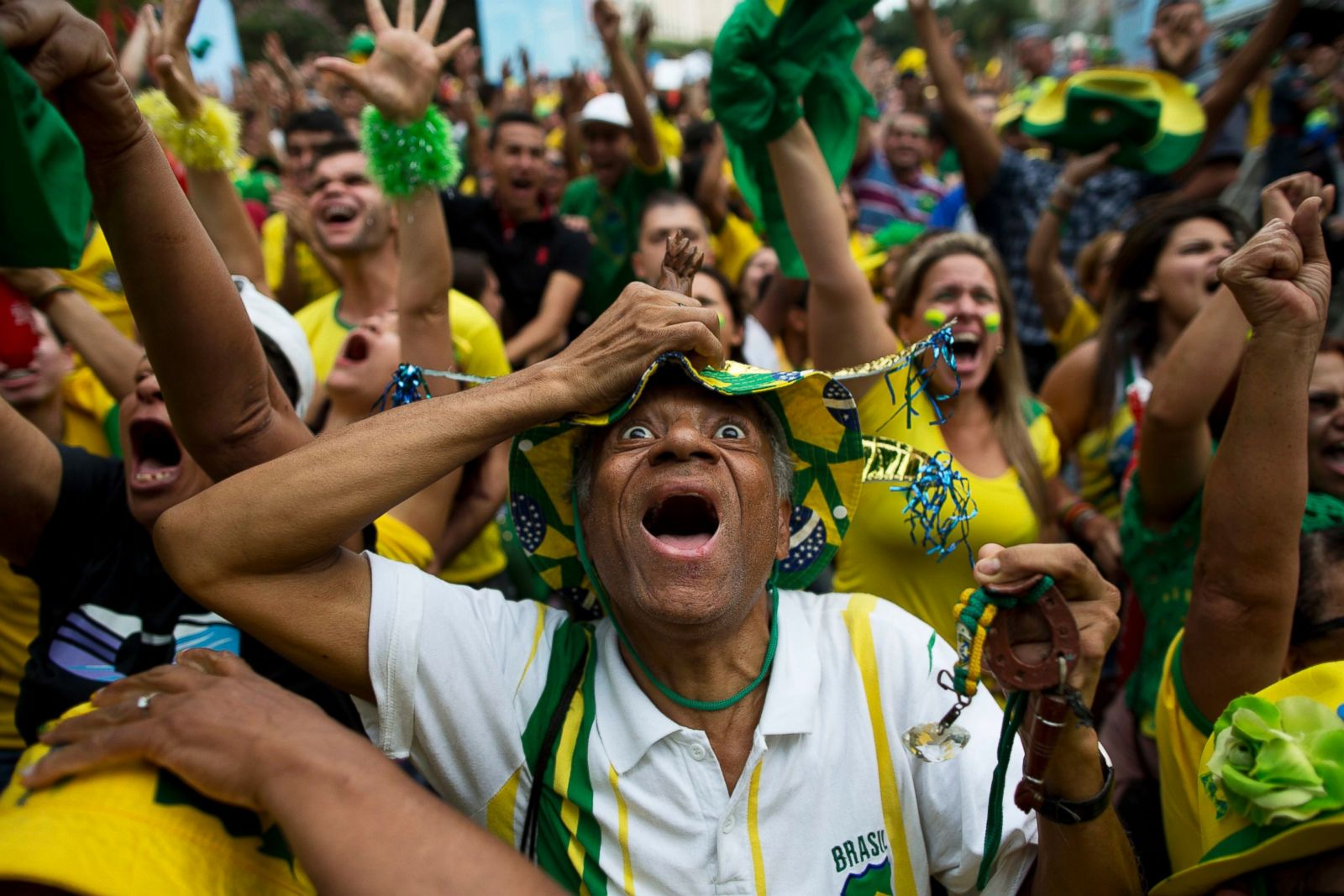 Brazil world cup fans pity