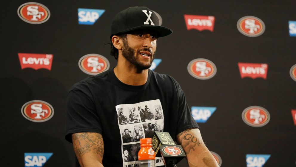 quality design e651a c22e1 Kaepernick's Protest Angers Some Fans, Pleases Others - ABC News