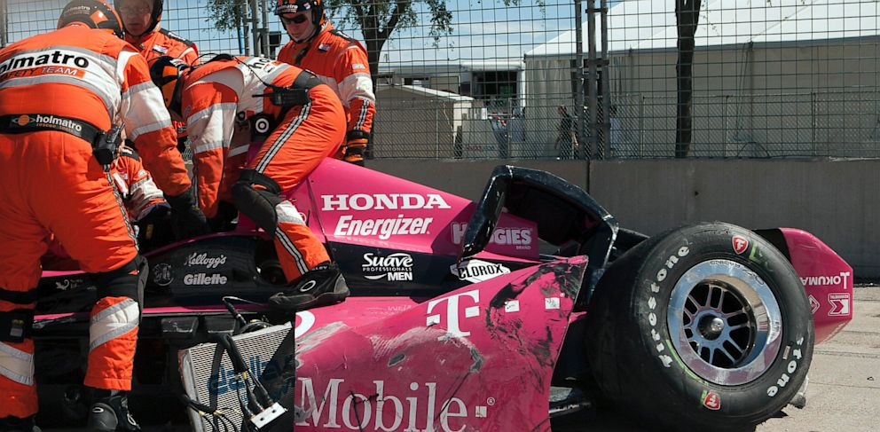 PHOTO: IndyCar Grand Prix Crash
