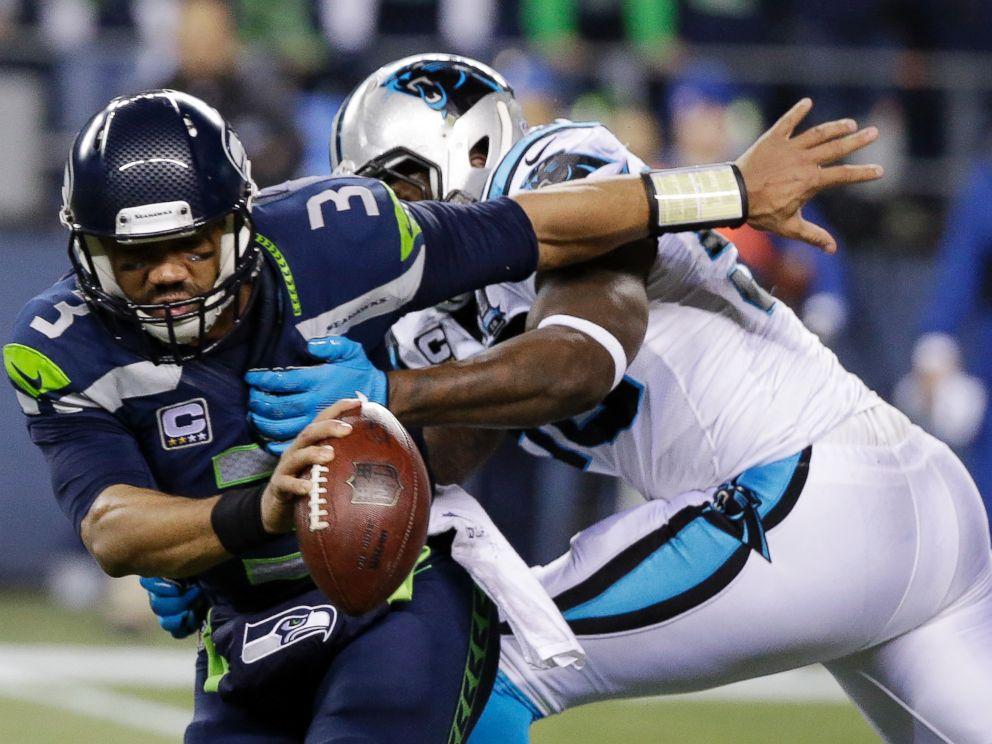 PHOTO: Seattle Seahawks quarterback Russell Wilson