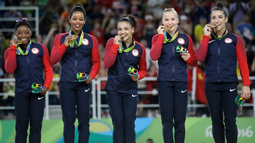 girls team gymnastics Usa olympic
