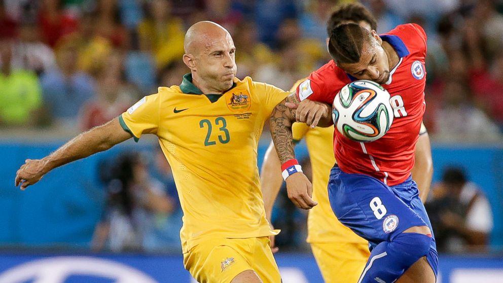 70add3dab Chile Beats Australia 3-1  World Cup Live Updates - ABC News