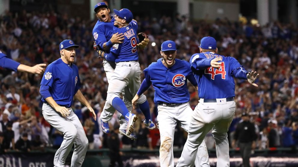 Chicago Cubs Beat Cleveland Indians 8 7 Winning 1st World Series Since 1908 Abc News