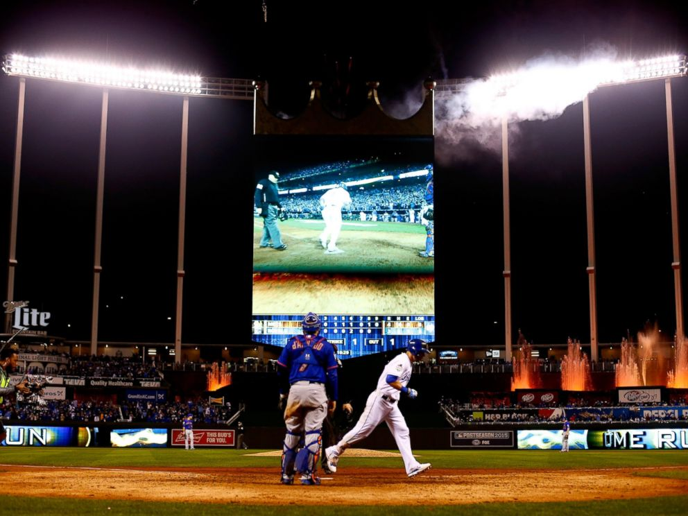 2015 World Series - Kansas City Royals over New York Mets ...