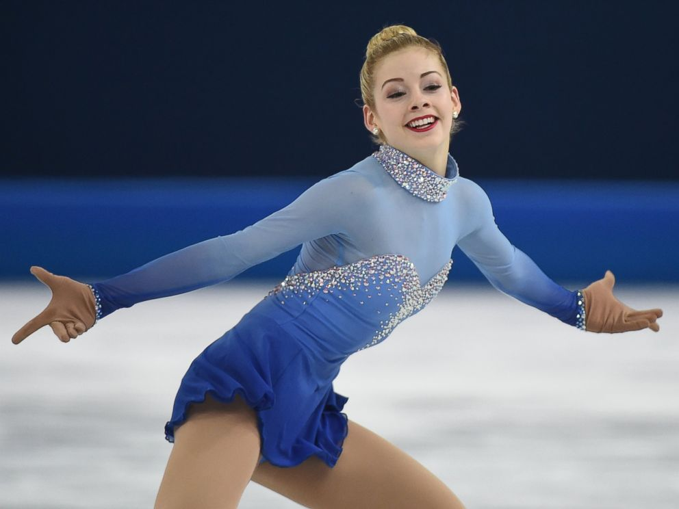 PHOTO: Gracie Gold performs in the womens figure skating free program at the Iceberg Skating Palace during the Sochi Winter Olympics, Feb. 20, 2014.