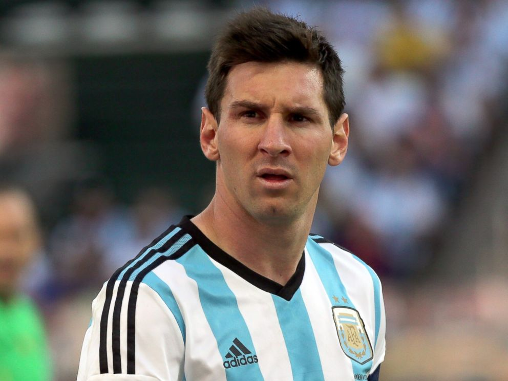 PHOTO: Lionel Messi of Argentina looks on during the 2014 FIFA World Cup Brazil Round of 16 match between Argentina and Switzerland at Arena de Sao Paulo on July 1, 2014 in Sao Paulo, Brazil.