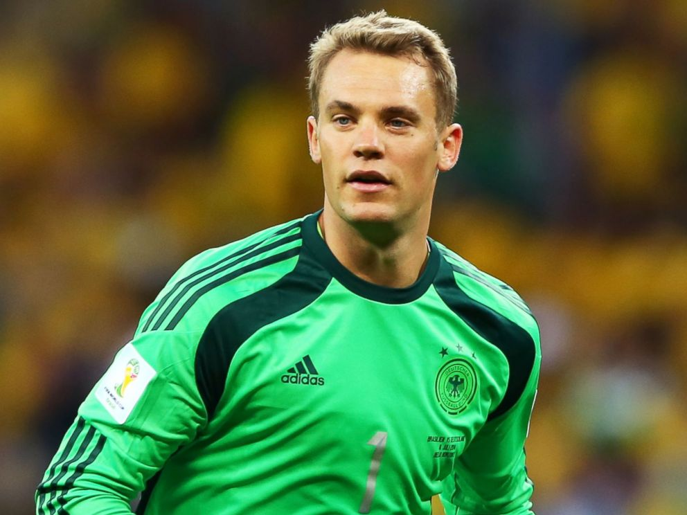 PHOTO: Manuel Neuer of Germany during the 2014 FIFA World Cup Brazil Semi Final match between Brazil and Germany at Estadio Mineirao on July 8, 2014 in Belo Horizonte, Brazil.