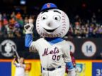 PHOTO: Baseball mascots show off their moves