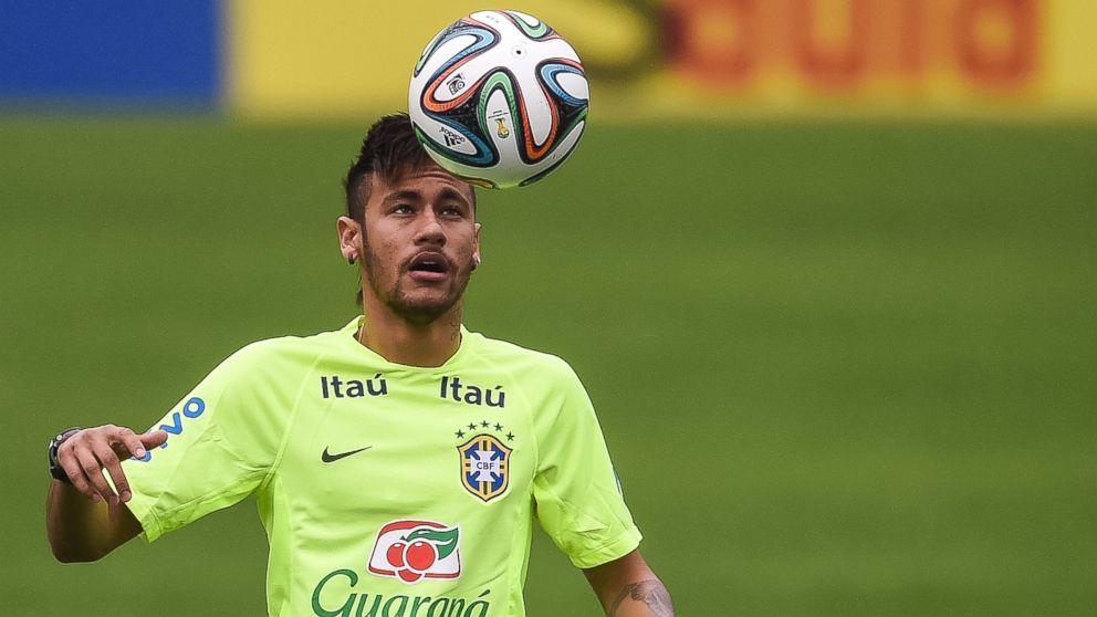 Get To Know Brazilian Breakout Star Neymar Abc News