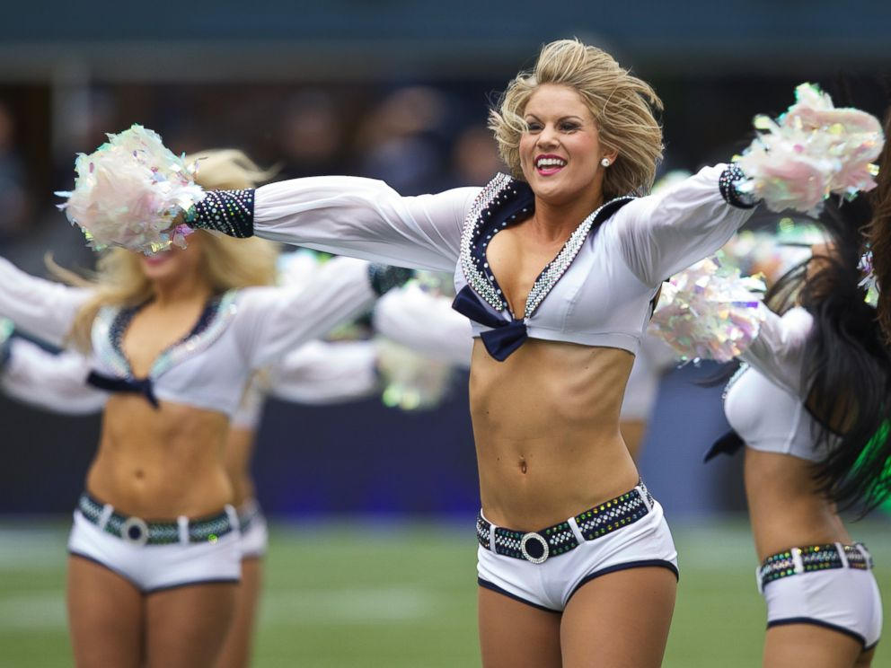 0ac4fbf22136e PHOTO  Sea Gals cheerleaders perform before a game between the Seattle  Seahawks and the Minnesota